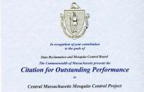 Mass. Performance Recognition Award