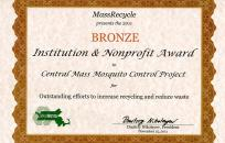 MASSRECYCLE certificate