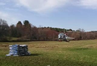 Aerial Larvicide Program Helicopter