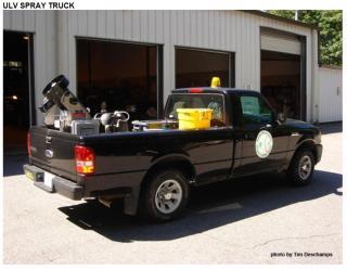 ULV spray truck